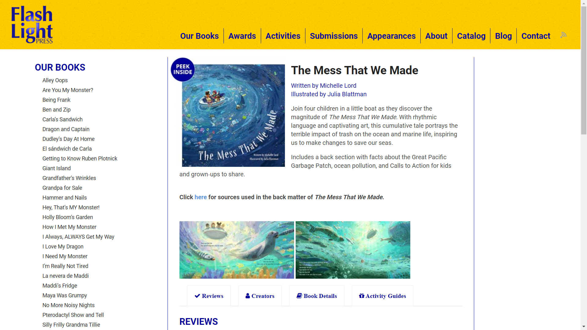The Mess That We Made - FlashLight Press, Michelle Lord and Julia Blattman